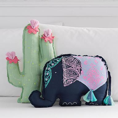 Throw Pillows Primark : Tassel Shaped Pillows PBteen
