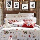 Peanuts 174 Flannel Duvet Cover Sham Pbteen