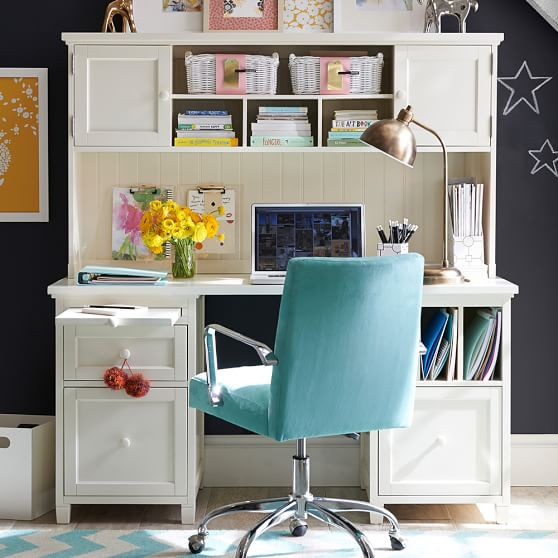 beadboard smart divider desk pbteen