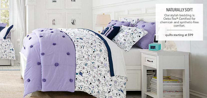 Girls Quilts and Shams