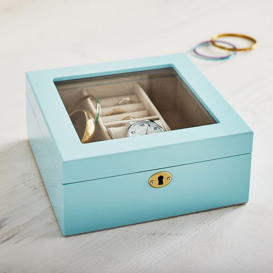 Lacquer Amp Brass Jewelry Box Pbteen