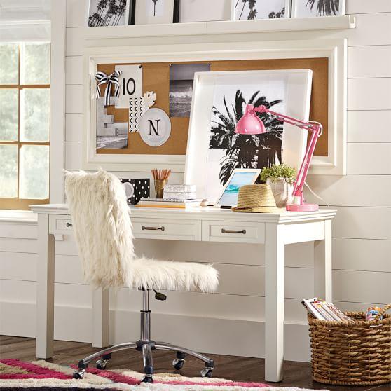 Hampton Classic Desk Hutch PBteen