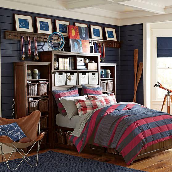 Boys Bedroom Furniture Sets: Beadboard Super Set Bed Set