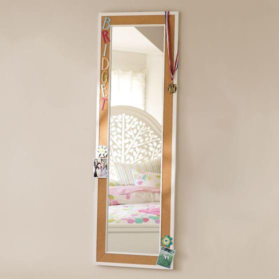 Cool CorkFramed Mirror  PBteen