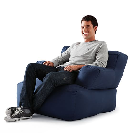 Single Solid Eco Lounger Pbteen