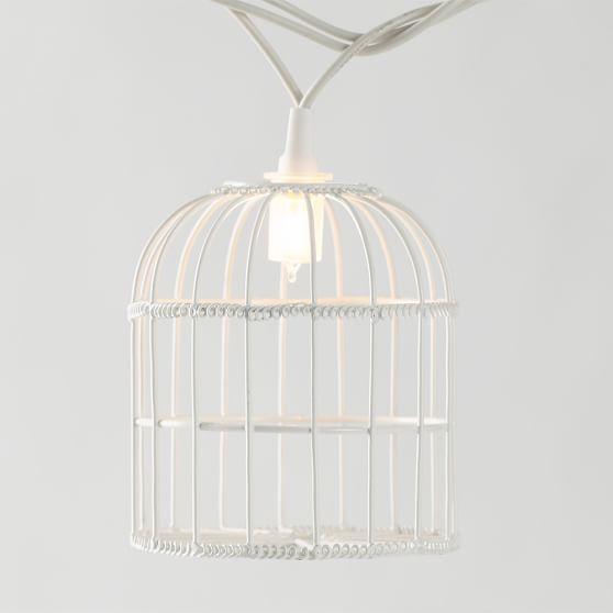 Bird & Cage String Lights PBteen