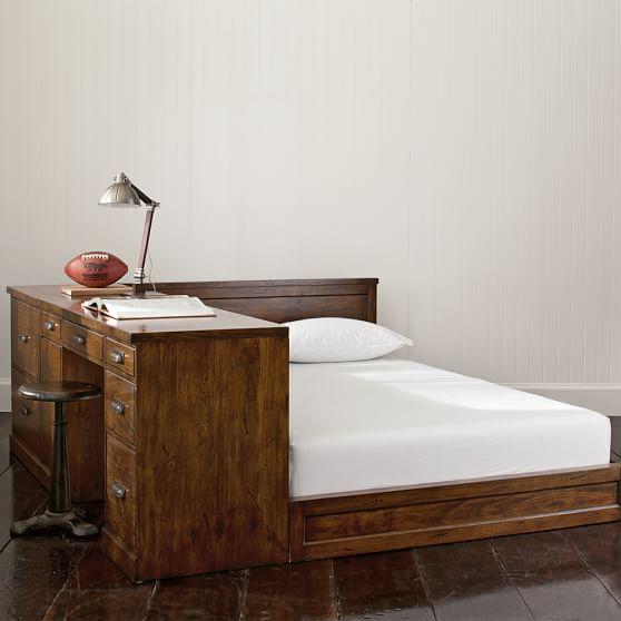 set alternate view bed desk bed desk set