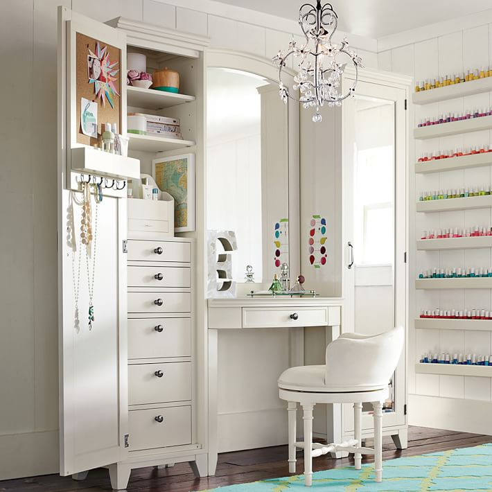 vanities for girls bedrooms, Bedroom decor