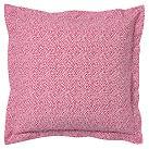Dorm Mini Dot Euro Sham, Pink Magenta