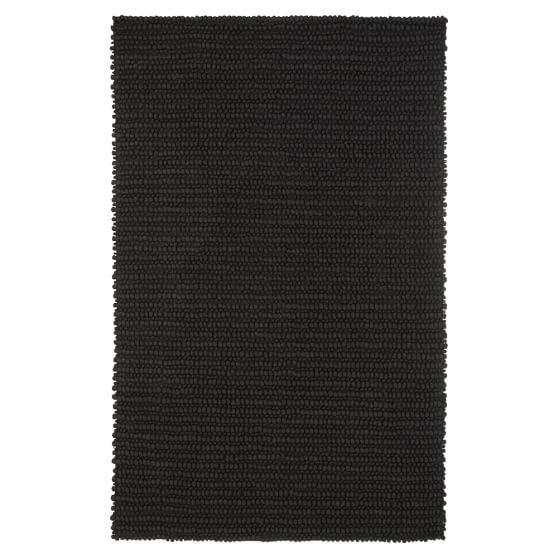 Textured Wool Rug, 3x5, Graphite