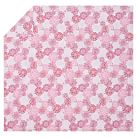 Flower Burst Duvet, Twin, Pink Multi