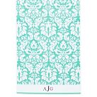 Damask Hand Towel, Pool