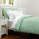Peyton Duvet, Twin, Kelly Green
