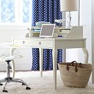 Quincy Desk Hutch, PBteen White