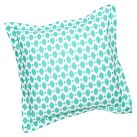Ikat Dot Euro Sham, Pool