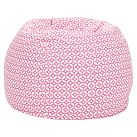 Geo Dot Pink Beanbag, Slipcover Only