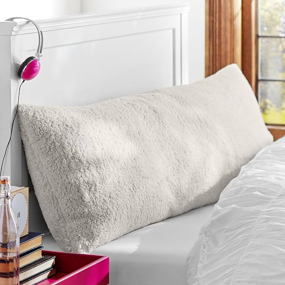 Sherpa Faux Fur Body Pillow Cover
