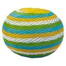 Blue/Green/Yellow Pouf