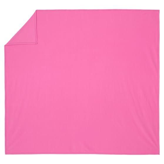 Pbteen Classic Fleece Blanket, Twin, Bright Pink