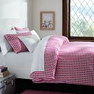 Rings Duvet Cover, Twin, Pink Magenta