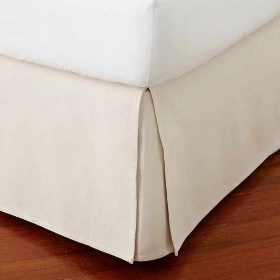 Addison Linen Bed-Skirt, Twin/Twin XL, Natural