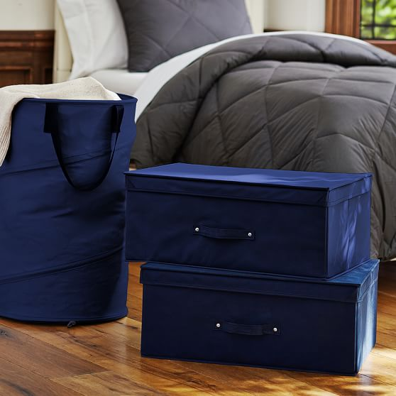 Laundry And Storage Set, BOM Navy Solid