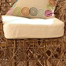 Wicker Pod Chair Cushion, White
