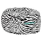 Classic Zebra Printed Beanbag Slipcover Only
