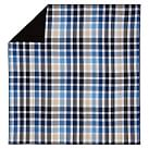 Palmer Plaid Quilt, Twin, Navy