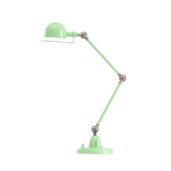 Hi-Light Task Lamp + CFL Bulb, Light Green