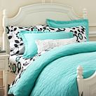 Big Dot Matelasse Duvet Cover, Twin, Pool