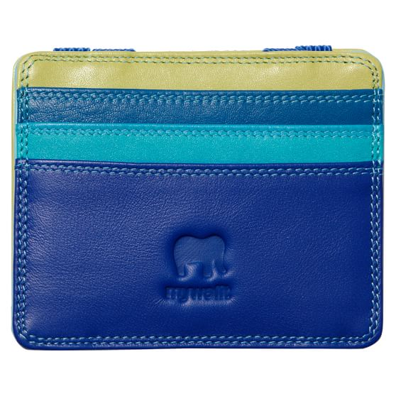 Leather Coinpocket Magic Wallet, Seascape