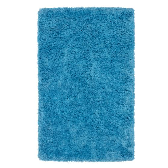 Ultra Plush Rug, 3x5', Blue