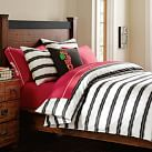 Burton Vibrating Stripe Duvet, Twin