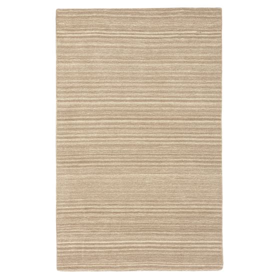 Tufted Natural Wool Rug, 3x5