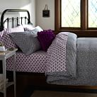 Mini Dot Duvet Cover, Twin, Black