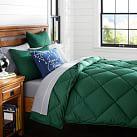Solid Comforter, Twin, Green
