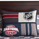 NHL Patchwork Standard Sham, East