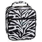 Gear Up Classic Lunch Bag, Zebra Black
