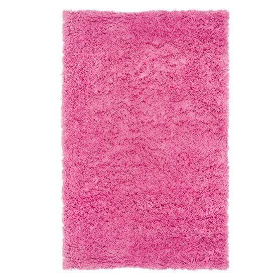 Ultra Plush Rug, 3x5', Bright Pink