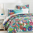 Beach Bloom Quilt, Twin, Multi