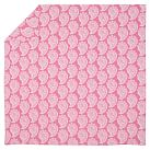 Punchy Paisley Duvet Cover, Twin, Bright Pink