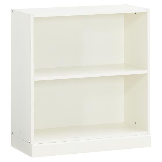 Stack Me Up 2 Shelf Cubby + Base Set, Antique White