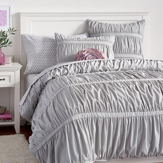 Pucker Up Comforter Xl Twin Light Gray Pbteen