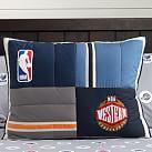 NBA Patchwork Standard Sham, Western Conference