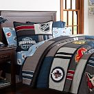 NHL Patchwork Quilt, Twin, West