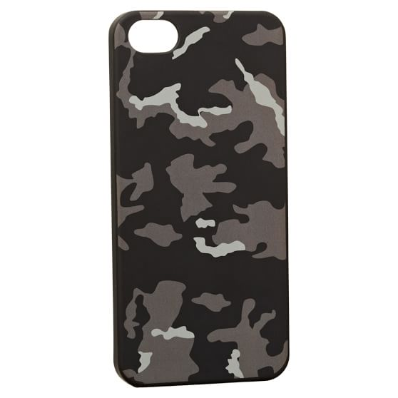 iPhone 5 Case, Camo, Black