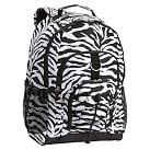 Gear-Up Backpack, Black Zebra