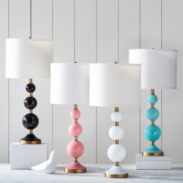 table lamps mix match lamp bases mix match lamp shades task lamps. Black Bedroom Furniture Sets. Home Design Ideas