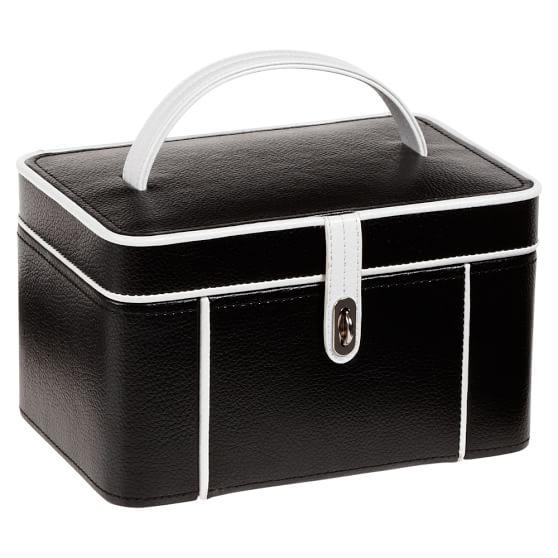 Classic Jewelry Storage, Black Mini Dot